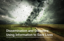 Course title with background photo of a large tornado on a country road